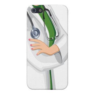 Caso femenino del iPhone 5 del doctor de la mujer  iPhone 5 Cobertura