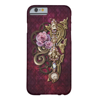 Caso femenino del iPhone 6 de Steampunk Funda De iPhone 6 Barely There