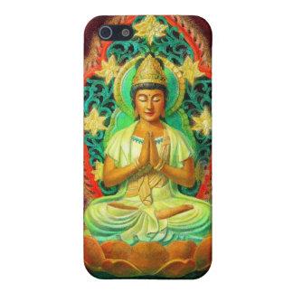 Caso femenino del iPhone de Buda Kuan Yin iPhone 5 Funda
