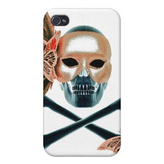 Caso femenino del iphone del cráneo iPhone 4/4S fundas