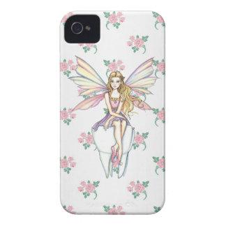 Caso femenino del iPhone lindo 5 del ratoncito Funda Para iPhone 4 De Case-Mate