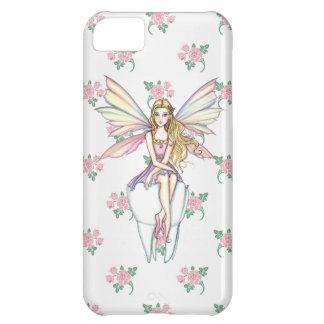 Caso femenino del iPhone lindo 5 del ratoncito Funda Para iPhone 5C