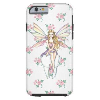 Caso femenino del iPhone lindo 5 del ratoncito Funda Resistente iPhone 6