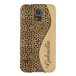 Caso femenino del monograma GalaxyS5 del estampado Carcasa Galaxy S5