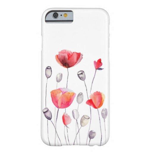 Caso femenino pintado hermoso del iPhone 6 de las Funda De iPhone 6 Barely There