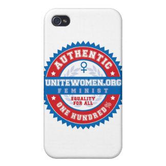 Caso feminista auténtico del iPhone del 100% iPhone 4/4S Carcasa
