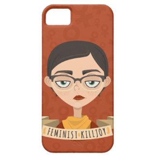 Caso feminista del iPhone del Killjoy iPhone 5 Carcasa