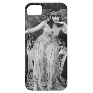 Caso Femme Fatale del iPhone 5 de Theda Bara Funda Para iPhone SE/5/5s