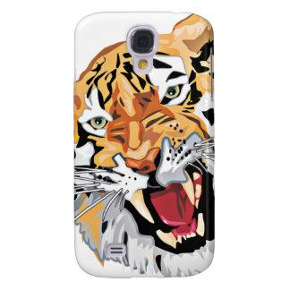 Caso feroz del tigre el gruñir