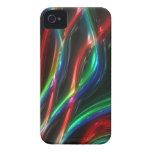 Caso fibroso elegante de Iphone 4 del arte moderno iPhone 4 Case-Mate Cárcasa