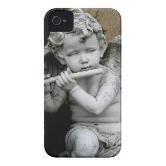 caso flauta del iPhone 4 que juega la querube Case-Mate iPhone 4 Cárcasas