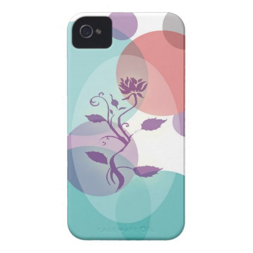 caso floral 2 del iphone Case-Mate iPhone 4 protector