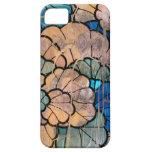 Caso floral abstracto 5s del iPhone 5 del vitral iPhone 5 Case-Mate Cárcasa