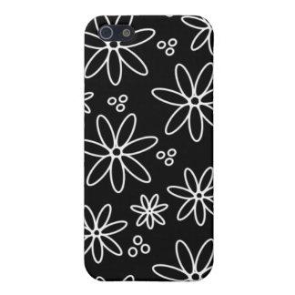 Caso floral abstracto de IPhone iPhone 5 Carcasa