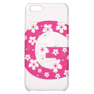 Caso floral bonito inicial del iphone 4 de G del m