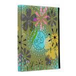 Caso floral de Caseable del folio del iPad del boh