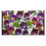 Caso floral de Caseable del iPad del jardín del pe