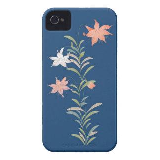 Caso floral de Iphone 4/4S del vintage elegante iPhone 4 Case-Mate Cárcasa