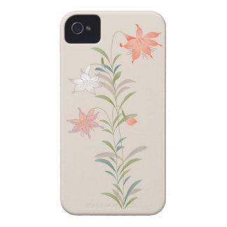 Caso floral de Iphone 4/4S del vintage elegante Case-Mate iPhone 4 Carcasa