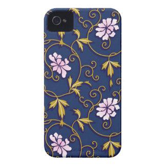 Caso floral de Iphone 4/4S del vintage Case-Mate iPhone 4 Carcasas