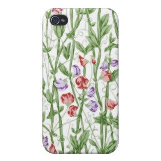 Caso floral de Iphone 4/4S del vintage iPhone 4 Cárcasa