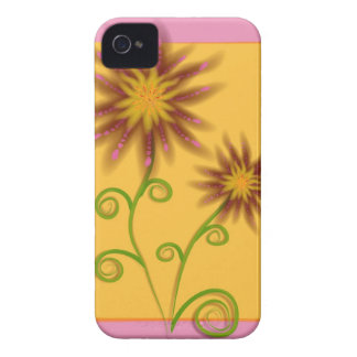 Caso floral de Iphone 4S Carcasa Para iPhone 4 De Case-Mate