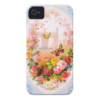 Caso floral de Iphone 4S del vintage iPhone 4 Funda