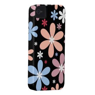 Caso floral de Iphone 4S iPhone 4 Carcasas