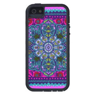 Caso floral de Iphone 5 de la tapicería iPhone 5 Cárcasas