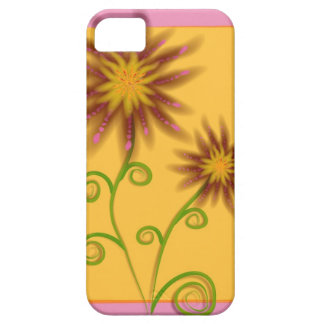 Caso floral de Iphone 5S Funda Para iPhone SE/5/5s