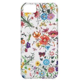 caso floral de Iphone de la bufanda del diseñador