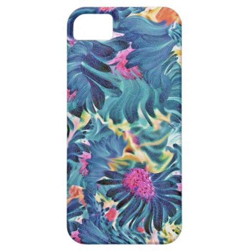 Caso floral de Iphone del Flourish iPhone 5 Case-Mate Cárcasas