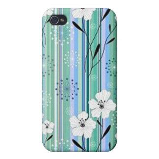 Caso floral de Iphone iPhone 4/4S Fundas