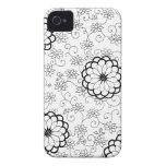 Caso floral de Mosaid Blackberry iPhone 4 Coberturas