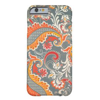 caso floral del caso del iPhone 6 Funda De iPhone 6 Barely There