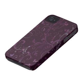 Caso floral del compañero del caso del iPhone 4/4S Case-Mate iPhone 4 Protectores