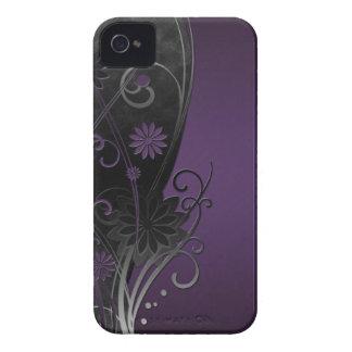 Caso floral del compañero del caso del iPhone 4/4S iPhone 4 Case-Mate Protectores
