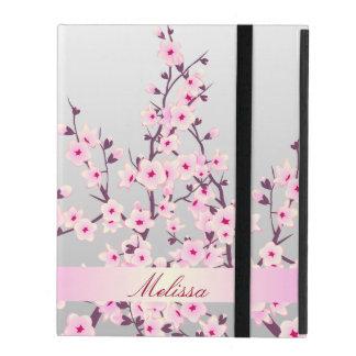 Caso floral del iPad 2/3/4 de las flores de cerezo iPad Cárcasas