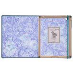 caso floral del iPad de la delicadeza iPad Protector