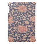 Caso floral del iPad de la mota de Paisley