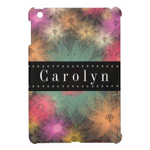 Caso floral del iPad del Grunge magnífico mini iPad Mini Cárcasa