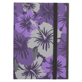 Caso floral del iPad del iCase de Powis del hibisc