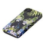 Caso floral del iPhone 4 del estilo de la moda iPhone 4 Case-Mate Protectores