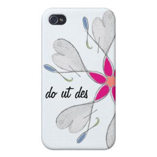 Caso floral del iPhone 4: Doy así que usted puede  iPhone 4/4S Funda