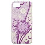Caso floral del iPhone 5