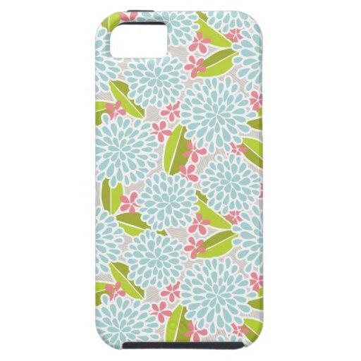 Caso floral del iPhone 5 de la momia Funda Para iPhone SE/5/5s