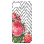 Caso floral del iPhone 5 del compañero del caso de iPhone 5 Funda