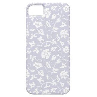 Caso floral del iPhone 5 del damasco de la orquíde iPhone 5 Protector