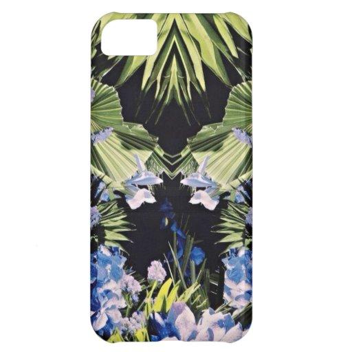 Caso floral del iPhone 5 del estilo de la moda
