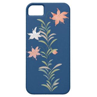 Caso floral del iPhone 5 del vintage elegante iPhone 5 Case-Mate Cobertura